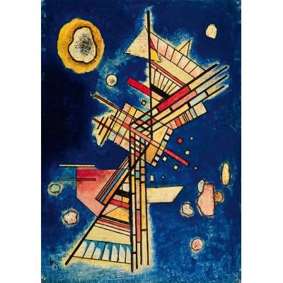 Bluebird-Puzzle - 1000 Teile - Vassily Kandinsky - Dunkle Kühle (Fraîcheur sombre), 1927