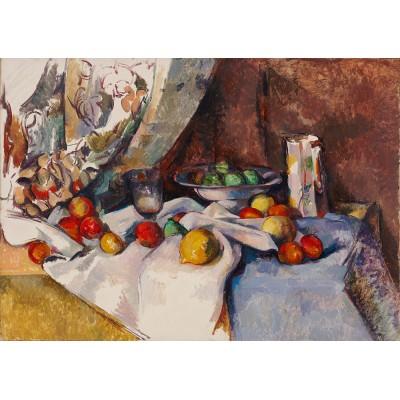 Bluebird-Puzzle - 1000 pièces - Paul Cézanne - Still Life with Apples, 1895-1898