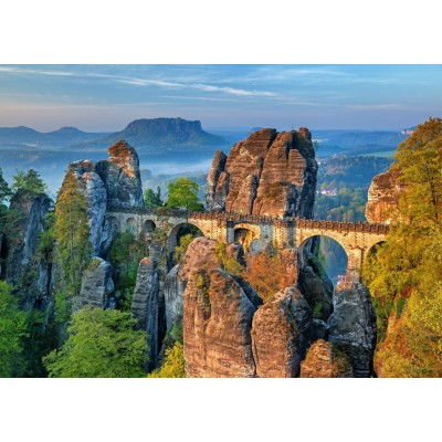 Bluebird-Puzzle - 500 pieces - The Bastei Bridge