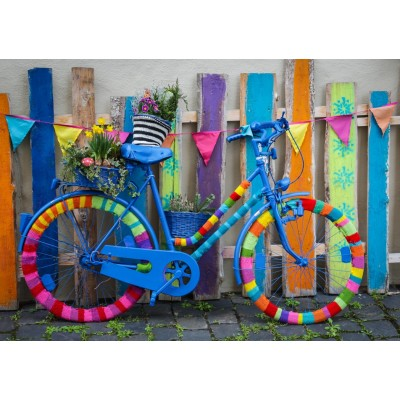 Bluebird-Puzzle - 1000 pieces - My Beautiful Colorful Bike