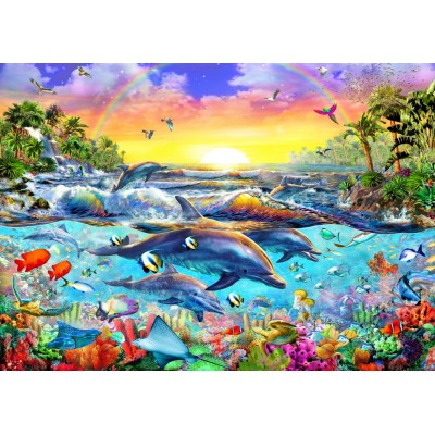 Bluebird-Puzzle - 2000 pieces - Tropical Cove