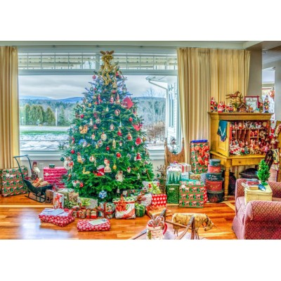 Bluebird-Puzzle - 500 pièces - Christmas at Home