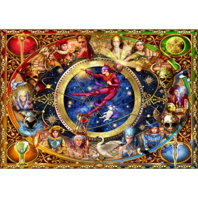 Bluebird-Puzzle - 1000 pieces - Legacy of the Divine Tarot