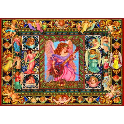 Bluebird-Puzzle - 1500 pieces - Antique Angels