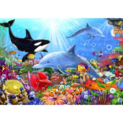 Bluebird-Puzzle - 1500 pieces - Bright Undersea World