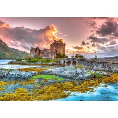 Bluebird-Puzzle - 3000 pieces - Eilean Donan Castle, Scotland