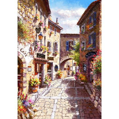 Bluebird-Puzzle - 1000 pieces - Eze Village