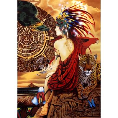 Bluebird-Puzzle - 1500 pieces - Aztec Dawn