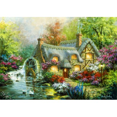 Bluebird-Puzzle - 3000 pieces - Country Retreat