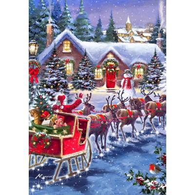 Bluebird-Puzzle - 1000 pieces - Santa And Sleigh