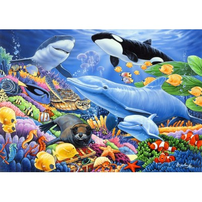 Bluebird-Puzzle - 500 pieces - Sealife