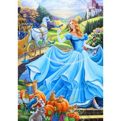 Bluebird-Puzzle - 1000 pieces - Cinderella