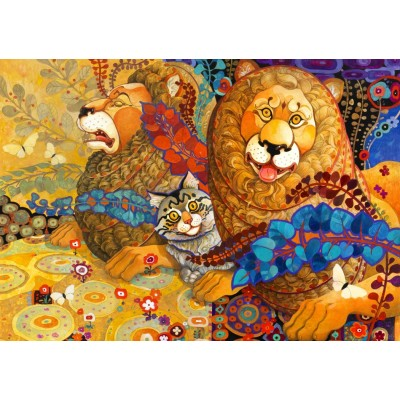 Bluebird-Puzzle - 1000 pieces - Leonine Tapestry