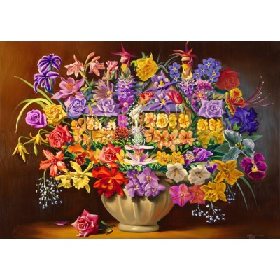 Bluebird-Puzzle - 1000 pieces - House Plants