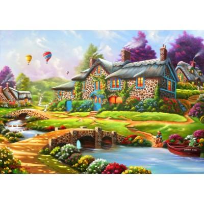 Bluebird-Puzzle - 1500 pieces - Dreamscape