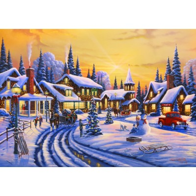 Bluebird-Puzzle - 1500 pieces - A Christmas Story