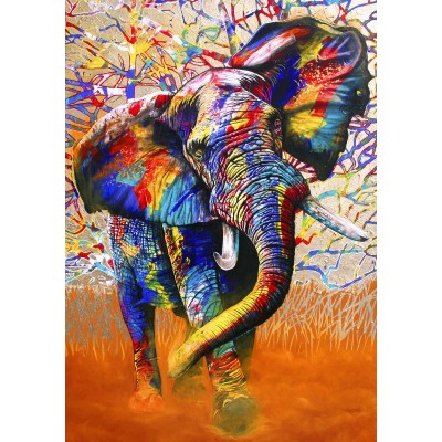 Bluebird-Puzzle - 1500 pieces - African Colours