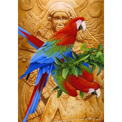 Bluebird-Puzzle - 1500 pieces - Aztec Rainbow