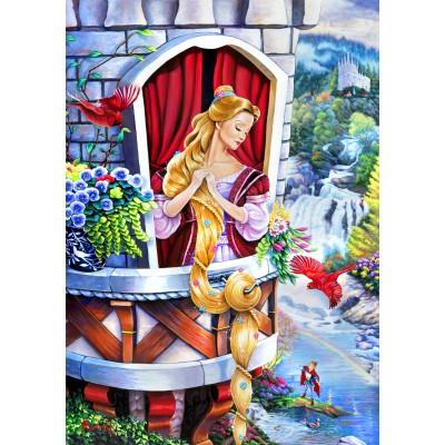 Bluebird-Puzzle - 1000 pieces - Rapunzel