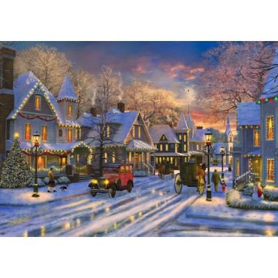 Bluebird-Puzzle - 1500 pieces - Small Town Christmas