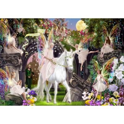 Bluebird-Puzzle - 1000 pieces - Fairy Queen with Unicorn