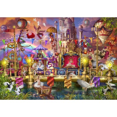 Bluebird-Puzzle - 1500 pieces - Magic Circus Parade