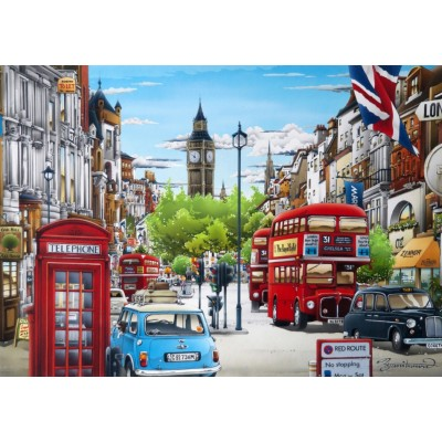 Bluebird-Puzzle - 1000 pieces - London