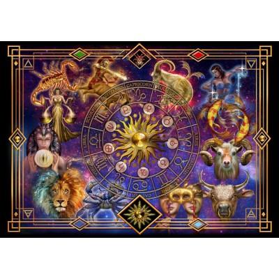 Bluebird-Puzzle - 1000 pieces - Zodiac Montage
