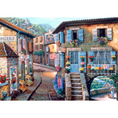 Bluebird-Puzzle - 1000 pieces - Le Fleuriste