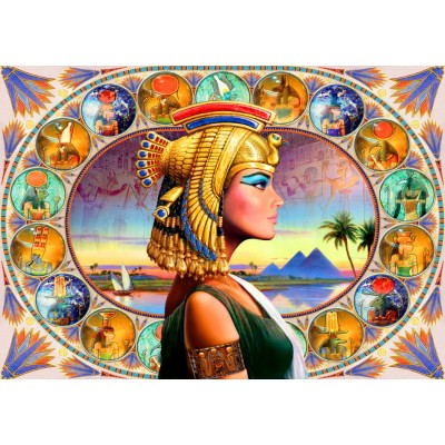 Bluebird-Puzzle - 1000 pieces - Nefertari