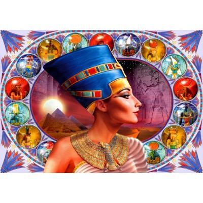 Bluebird-Puzzle - 1000 pieces - Nefertiti