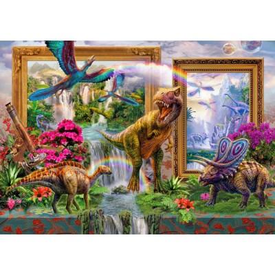 Bluebird-Puzzle - 1000 pieces - Dinoblend