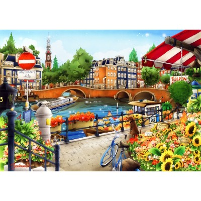 Bluebird-Puzzle - 1500 pieces - Amsterdam