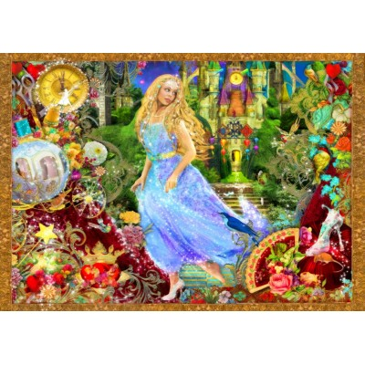 Bluebird-Puzzle - 500 pieces - When The Clock Strikes Midnight