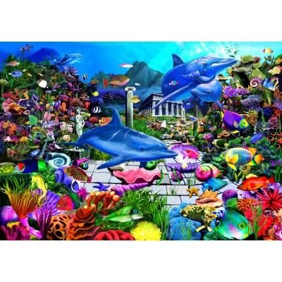 Bluebird-Puzzle - 1000 pieces - Lost Undersea World