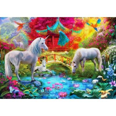 Bluebird-Puzzle - 1000 pieces - Oriental Unicorns