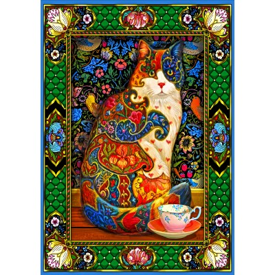 Bluebird-Puzzle - 1500 pieces - Painted Cat