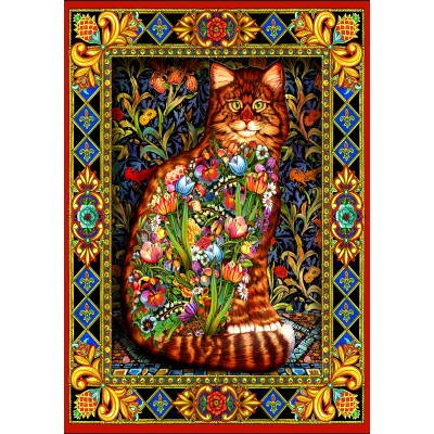 Bluebird-Puzzle - 1500 pieces - Tapestry Cat