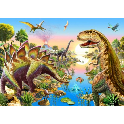 Bluebird-Puzzle - 500 pieces - Jurassic River