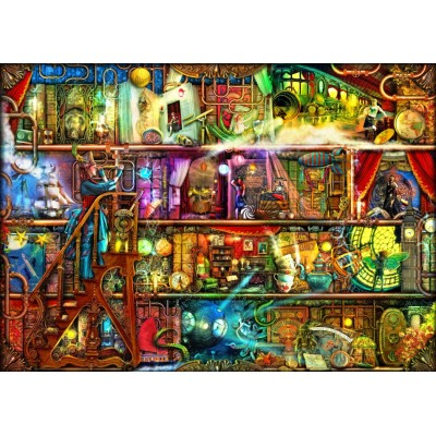 Bluebird-Puzzle - 2000 pieces - The Fantastic Voyage