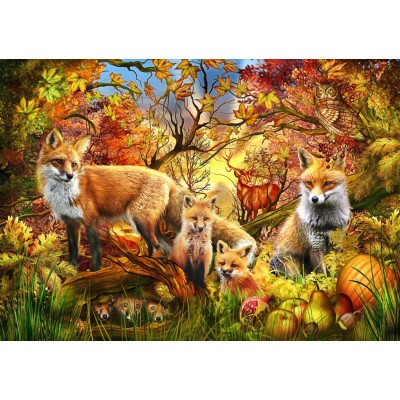 Bluebird-Puzzle - 1500 pieces - Spirit of Autumn