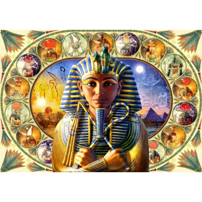 Bluebird-Puzzle - 1000 pieces - Tutankhamun