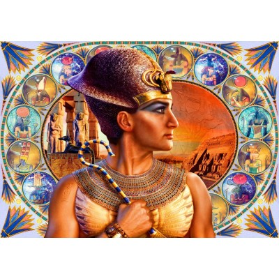 Bluebird-Puzzle - 1000 pieces - Ramesses II