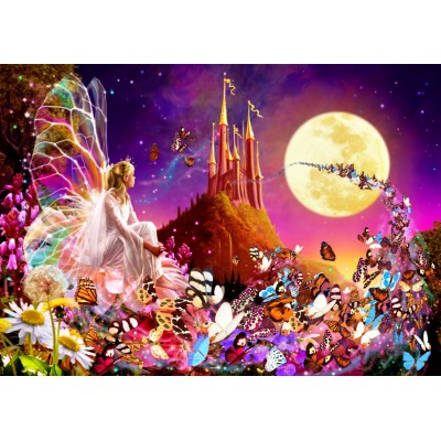 Bluebird-Puzzle - 500 pieces - Fairy Dreams