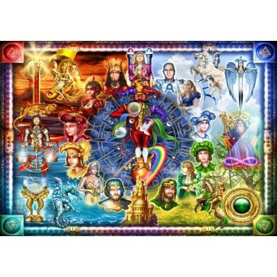 Bluebird-Puzzle - 1500 pieces - Tarot of Dreams
