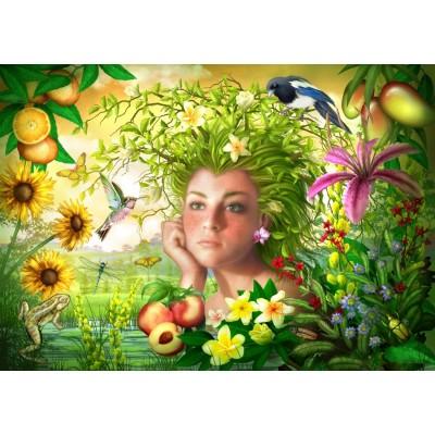 Bluebird-Puzzle - 1000 pieces - Spirit of Summer