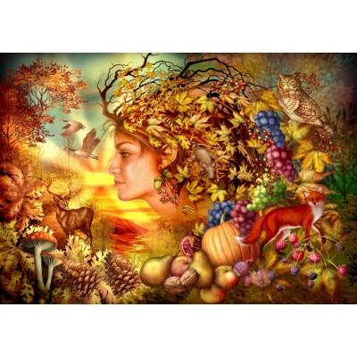 Bluebird-Puzzle - 1000 pieces - Spirit of Autumn