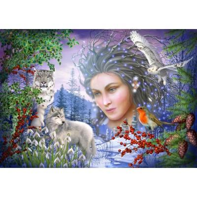 Bluebird-Puzzle - 1000 pieces - Spirit of Winter