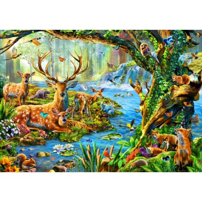 Bluebird-Puzzle - 1500 pieces - Forest Life