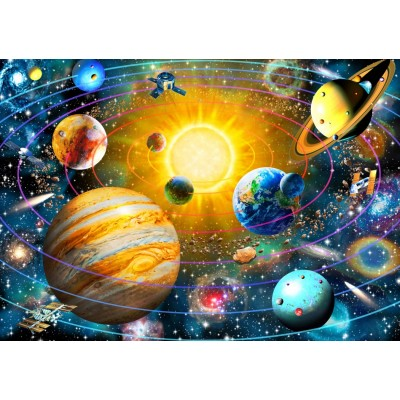 Bluebird-Puzzle - 1500 pieces - Ringed Solar System